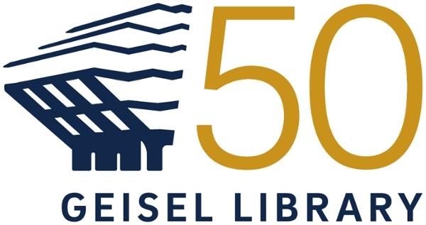 Geisel Library 50th Anniversary Logo